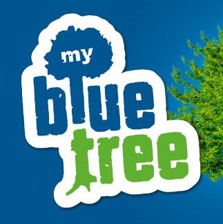 mybluetree - Wir pflanzen Bäume in die Erde